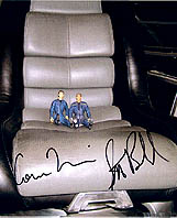The A*T AF's in the bridge chair- autographed!